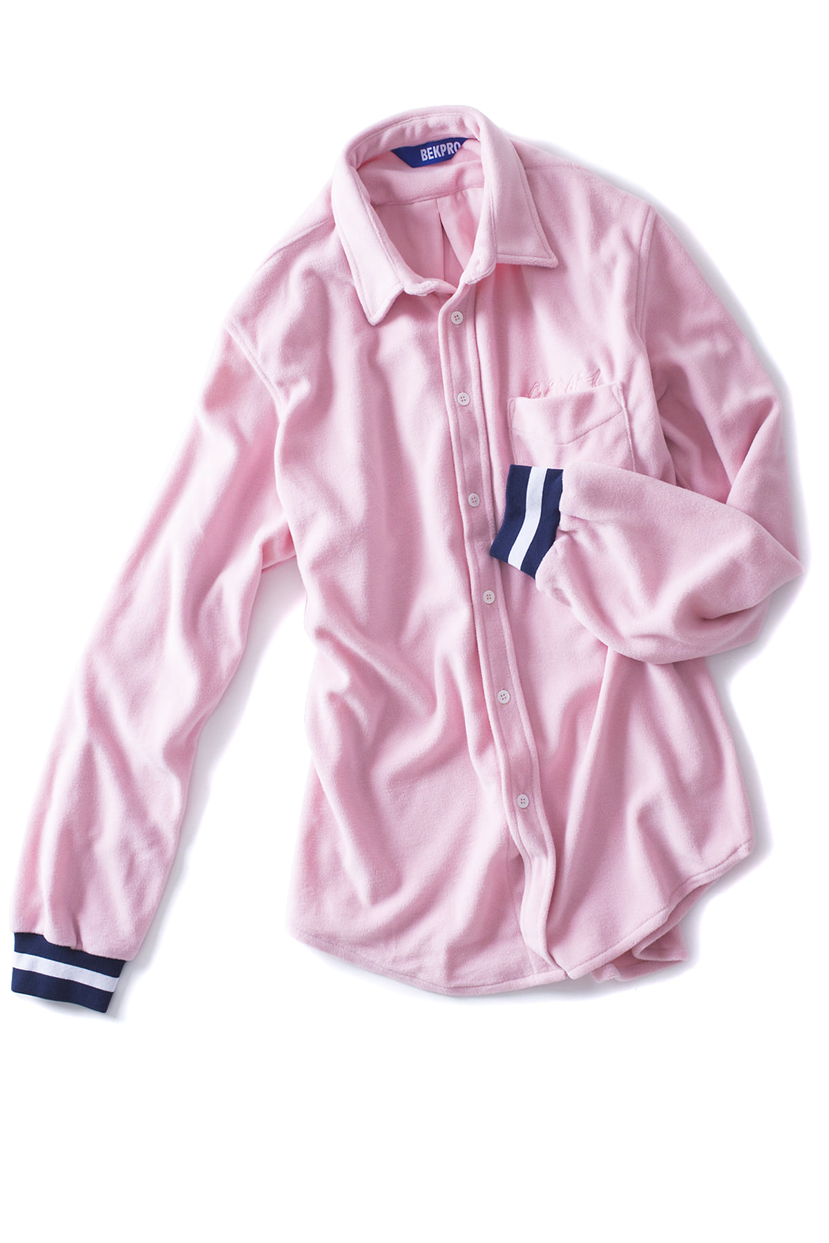 BEKPRO : L/S FLEECE SHIRT (Pink)
