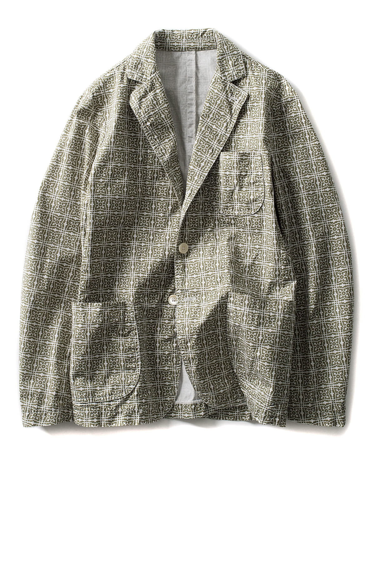 East Harbour Surplus : Barry Jacket (Pattern Green)