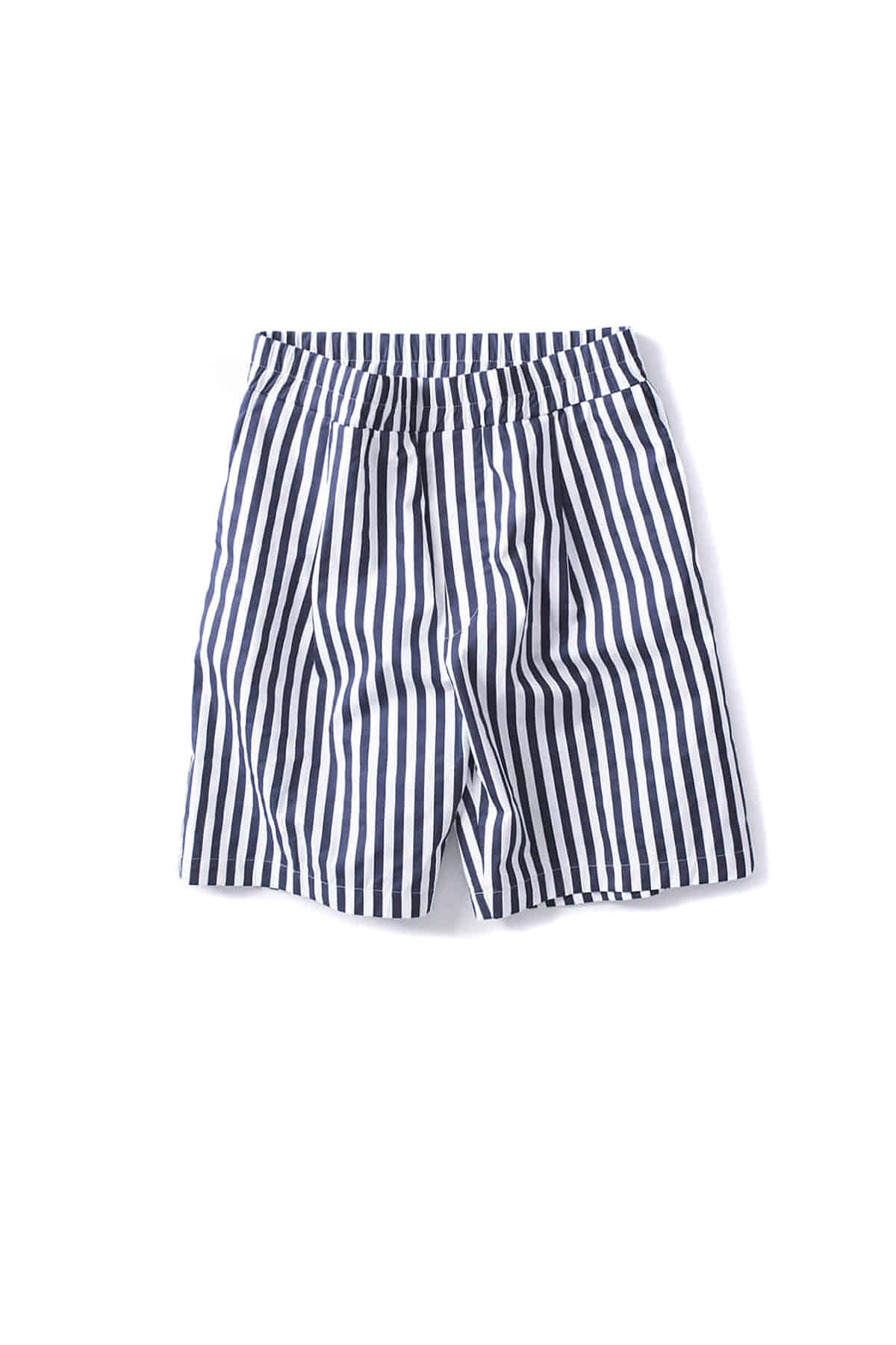 SUNNEI : Regular Elastic Shorts (Blue Stripe)