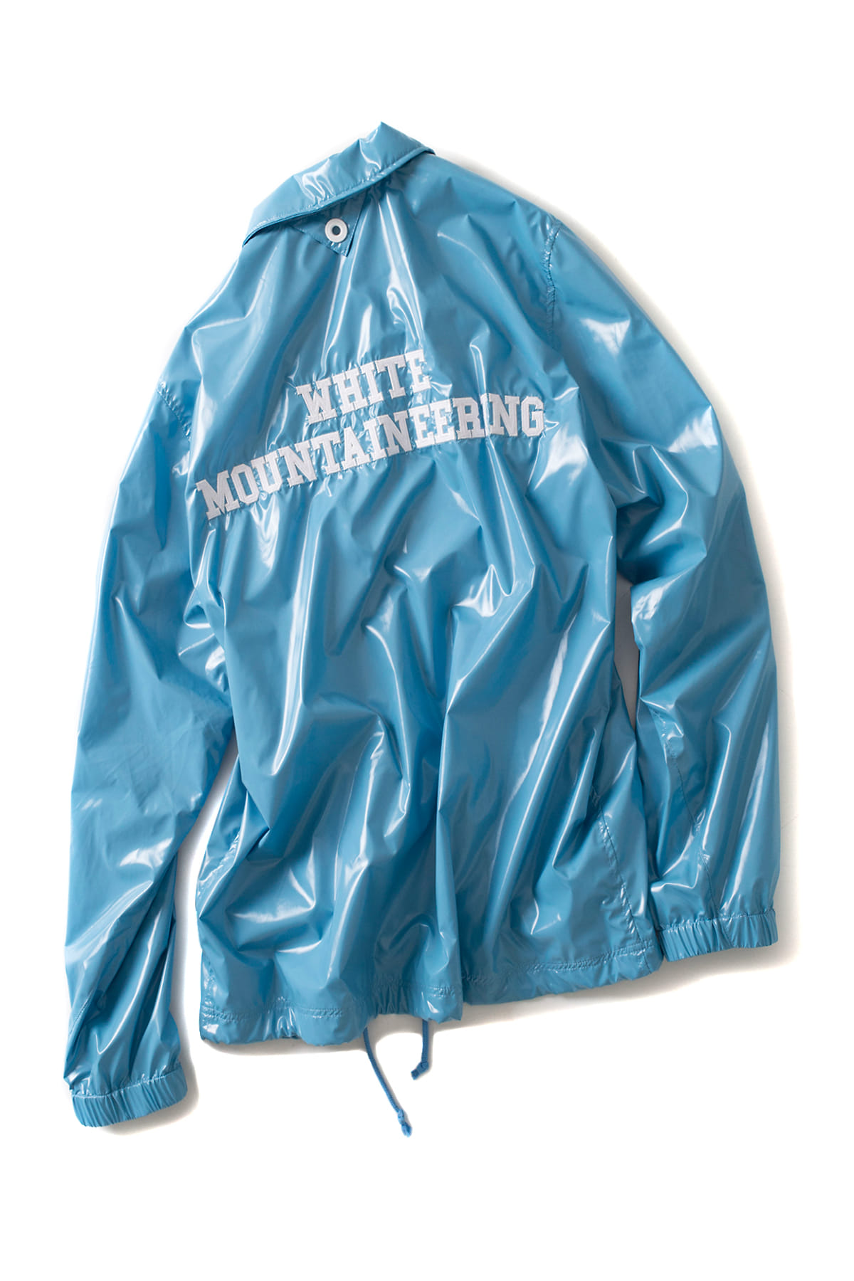 WHITE MOUNTAINEERING : Corted Nylon Coach Jacket (Sax)