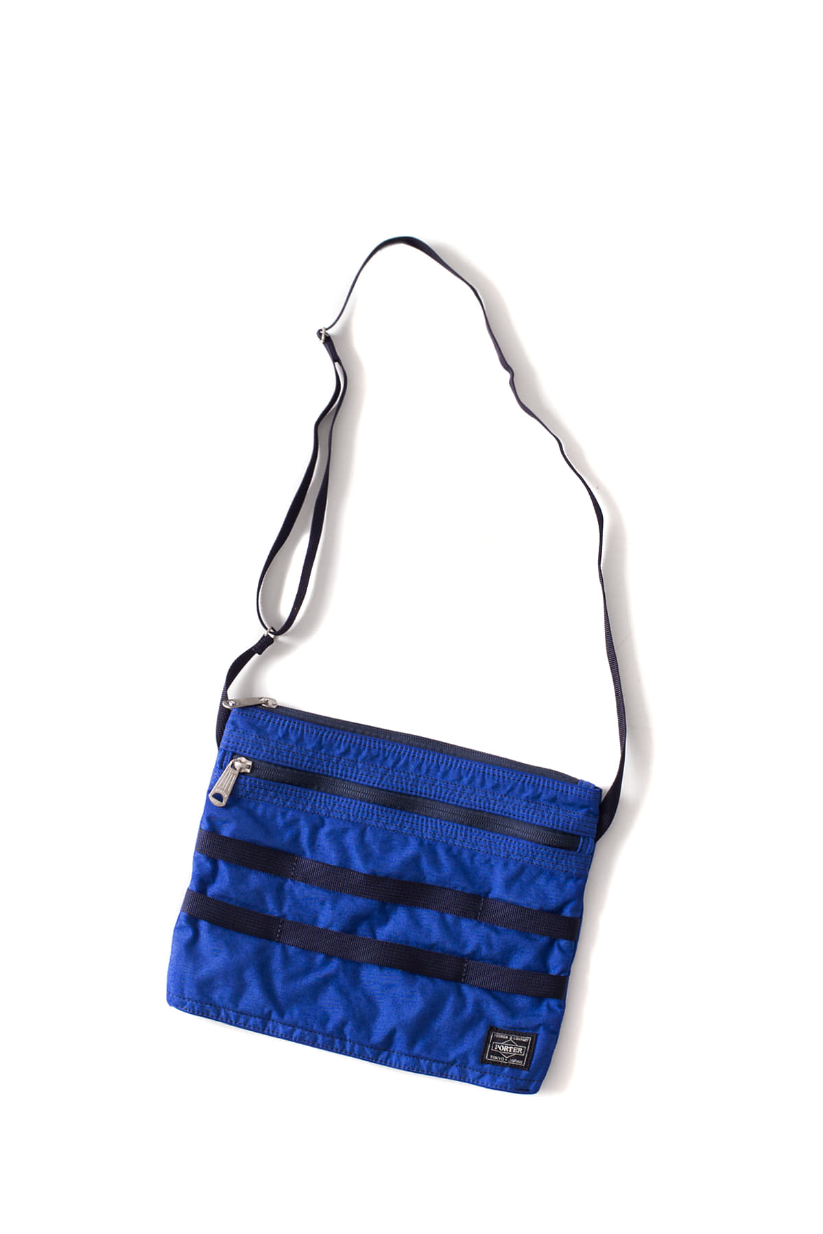 WHITE MOUNTAINEERING : WM x PORTER Garment Dyed Musette (Blue)