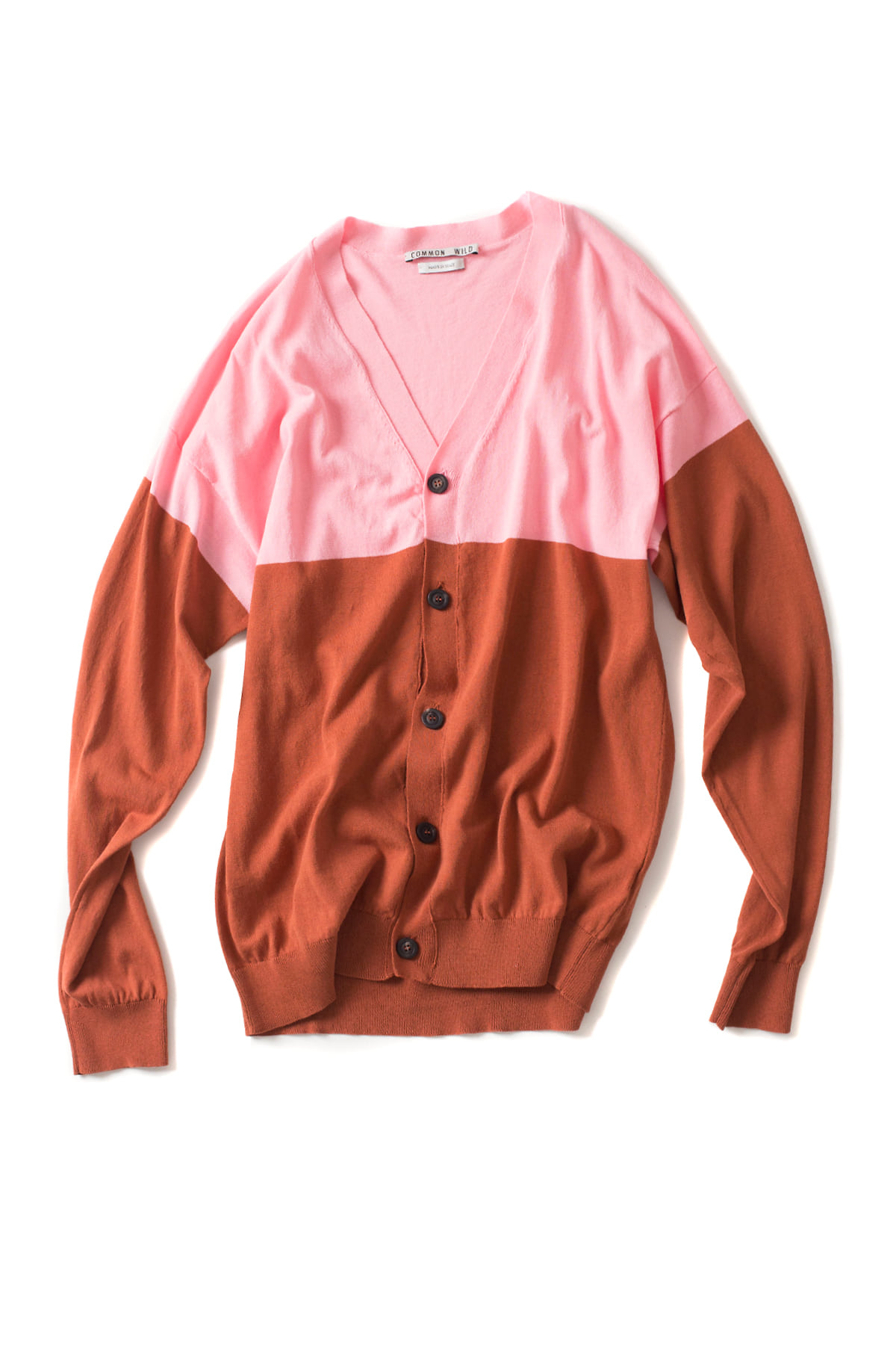 COMMON WILD : Knit Cardigan (Pink)