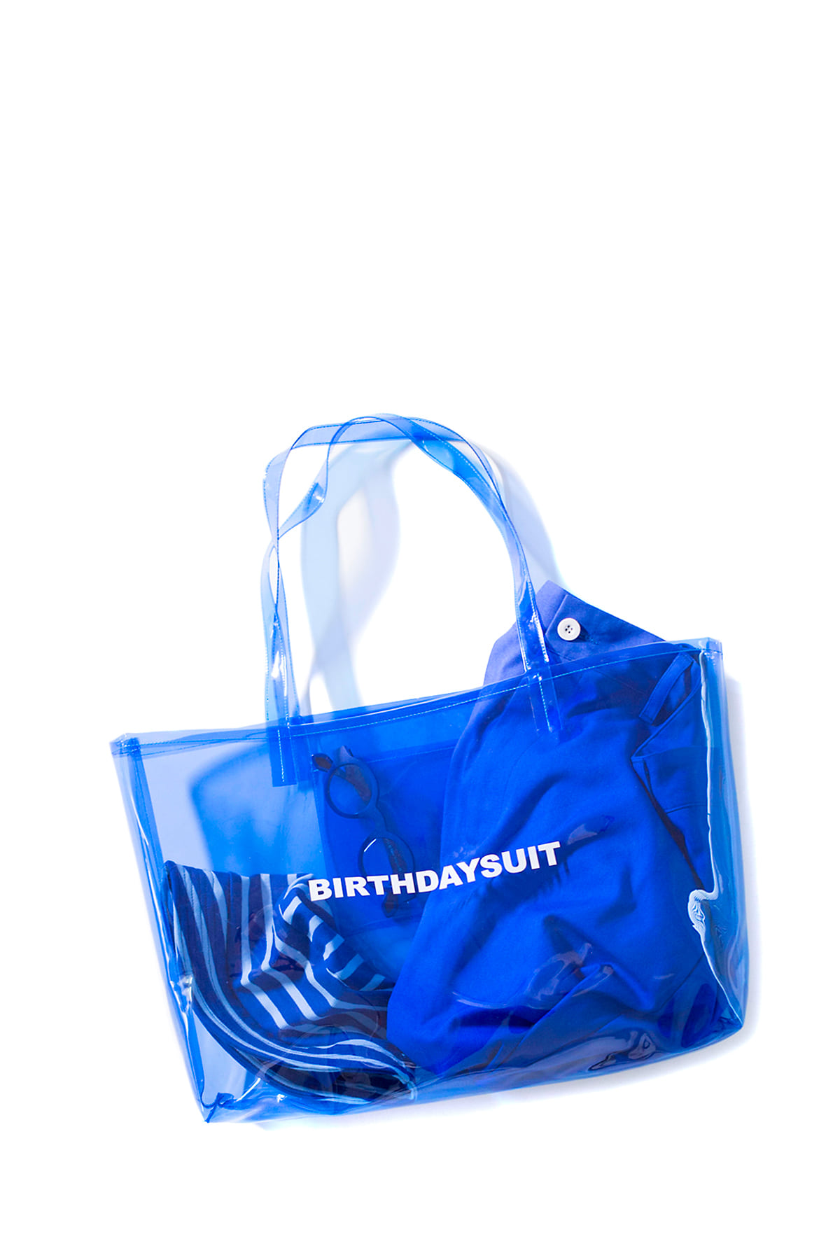 BIRTHDAYSUIT : LOGO PVC  (Blue)