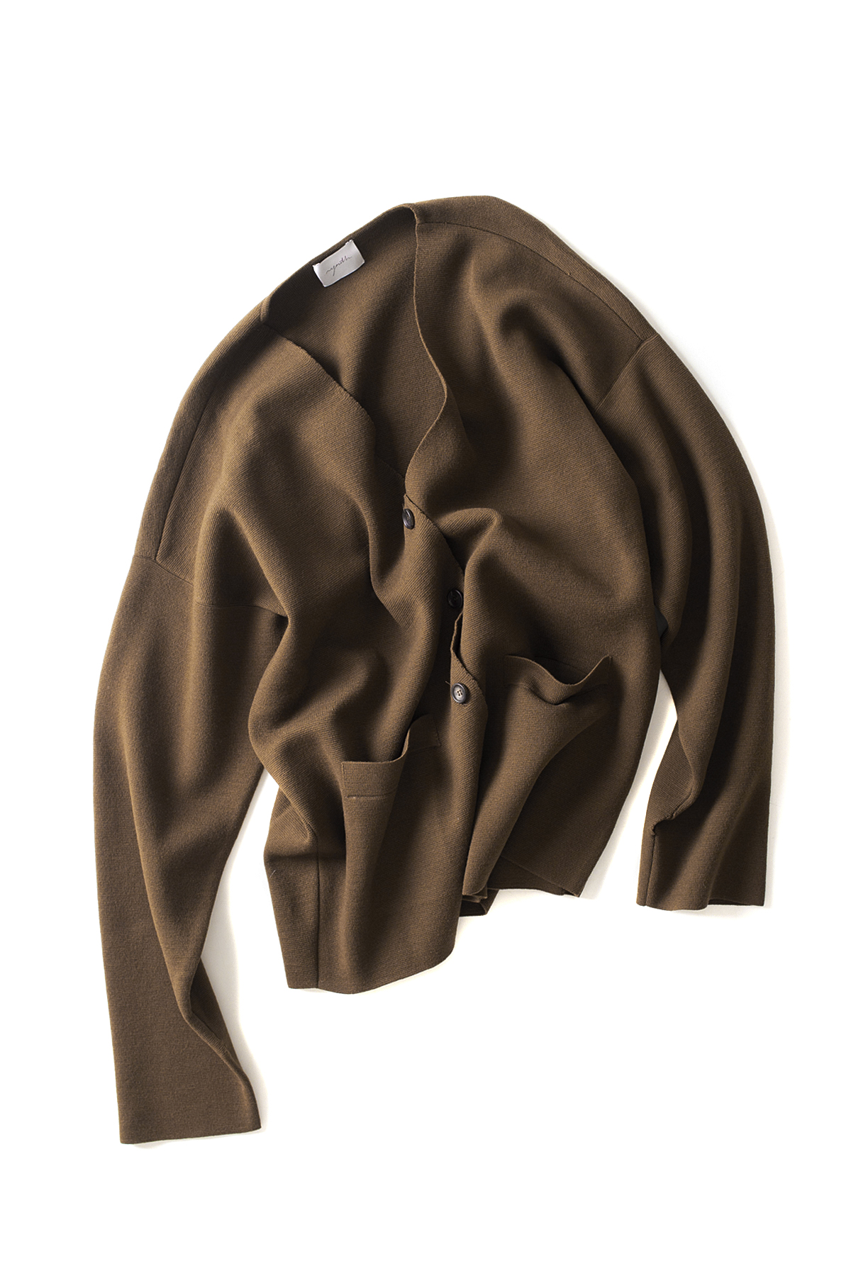 youth : Oversized Cardigan (Brown)