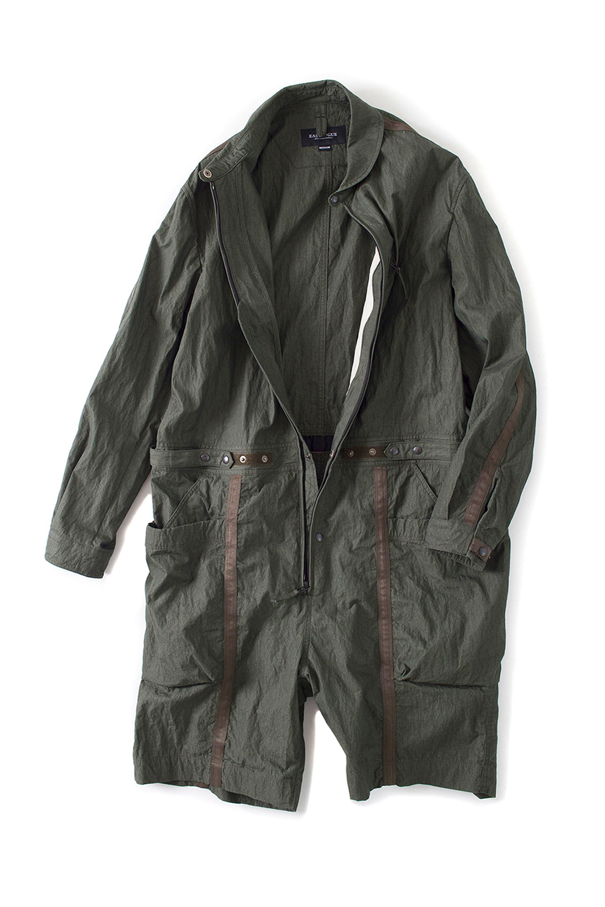 Eastlogue : Wagon Jump Suit (Olive Drap)