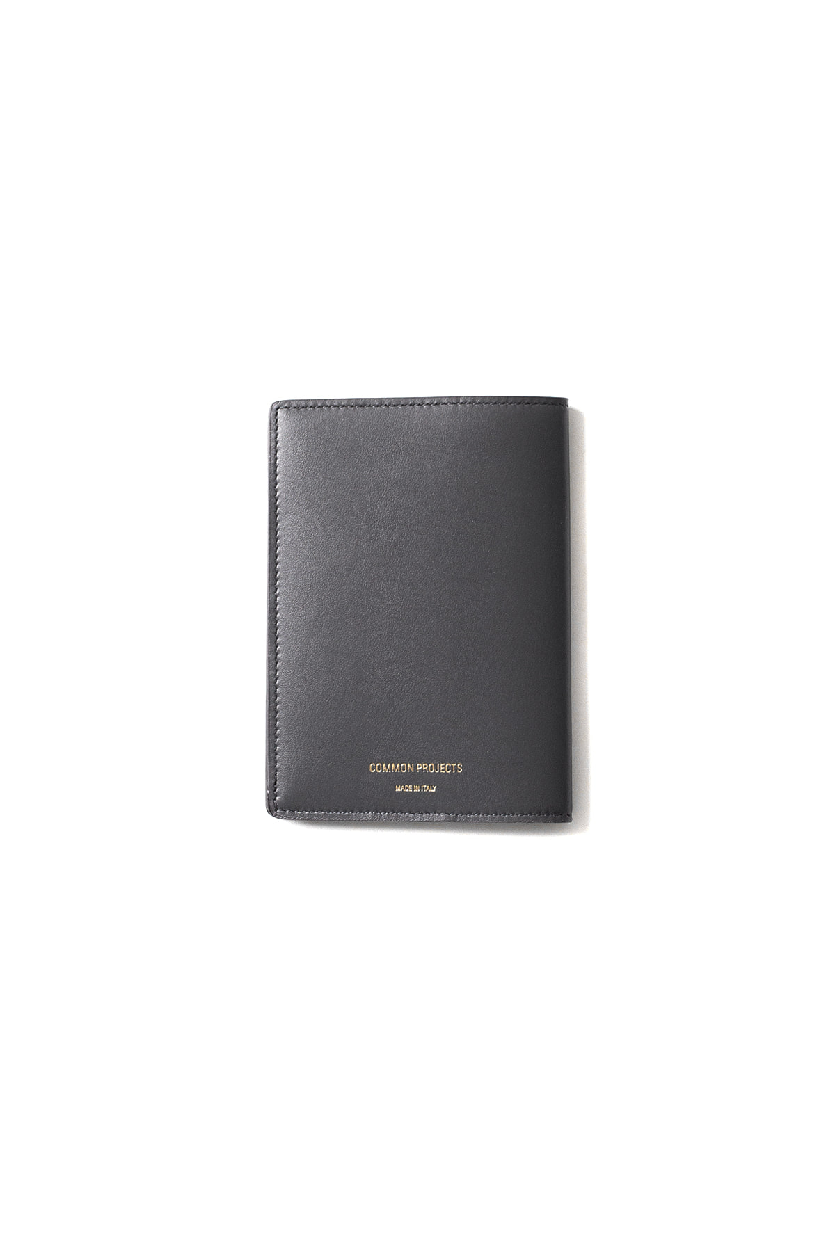 Common Projects : Passport Folio In Softy Leather (Blue Grey)