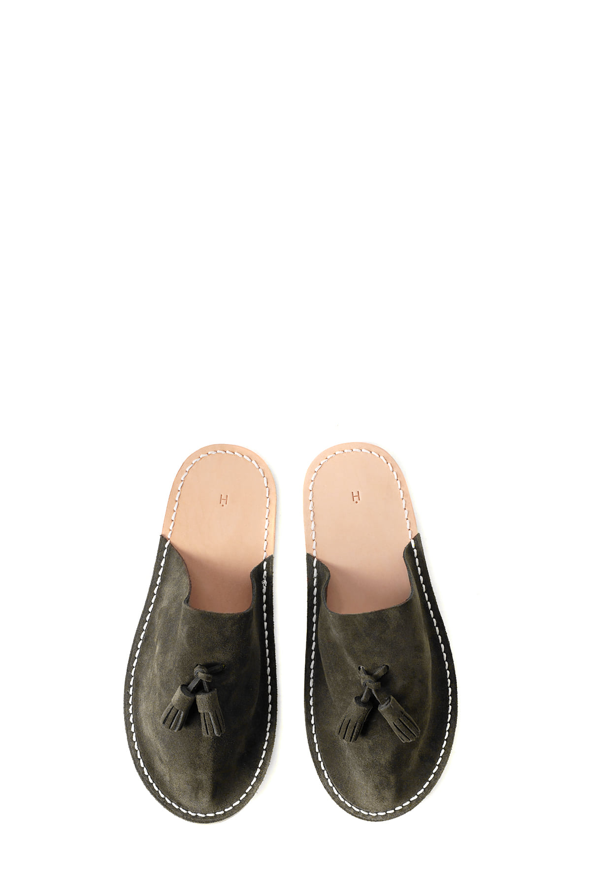 Hender Scheme : Leather Slipper (Choco)