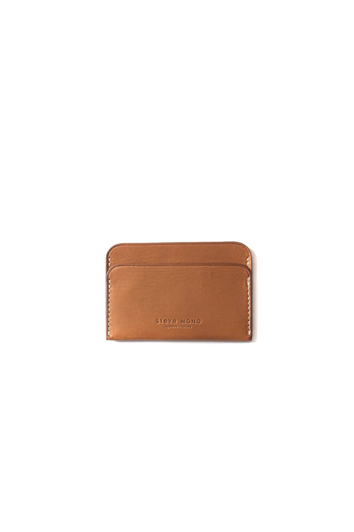 STEVE MONO : 09/8 Classic Cards Holder (Brown)
