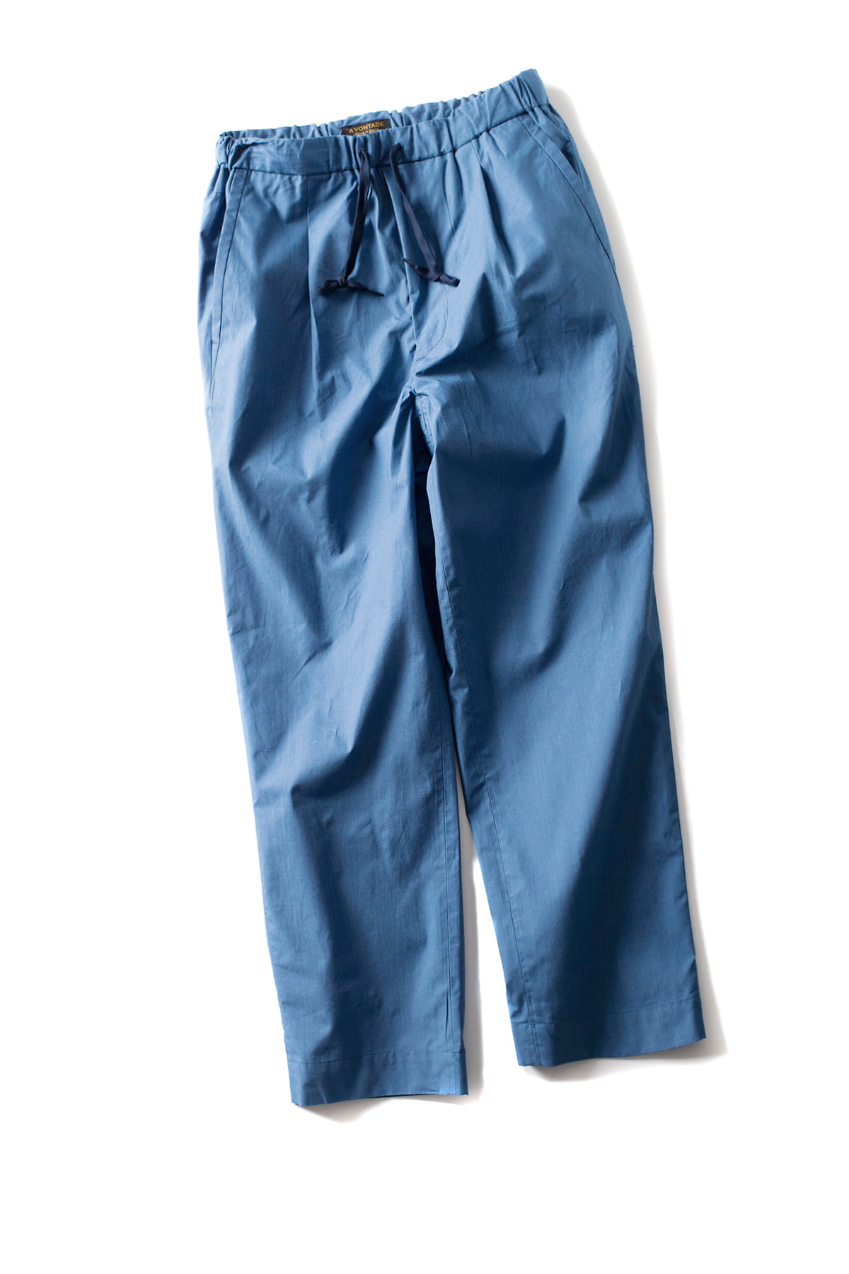 A vontade : 1 Tuck Tapered Easy Trousers (Blue)