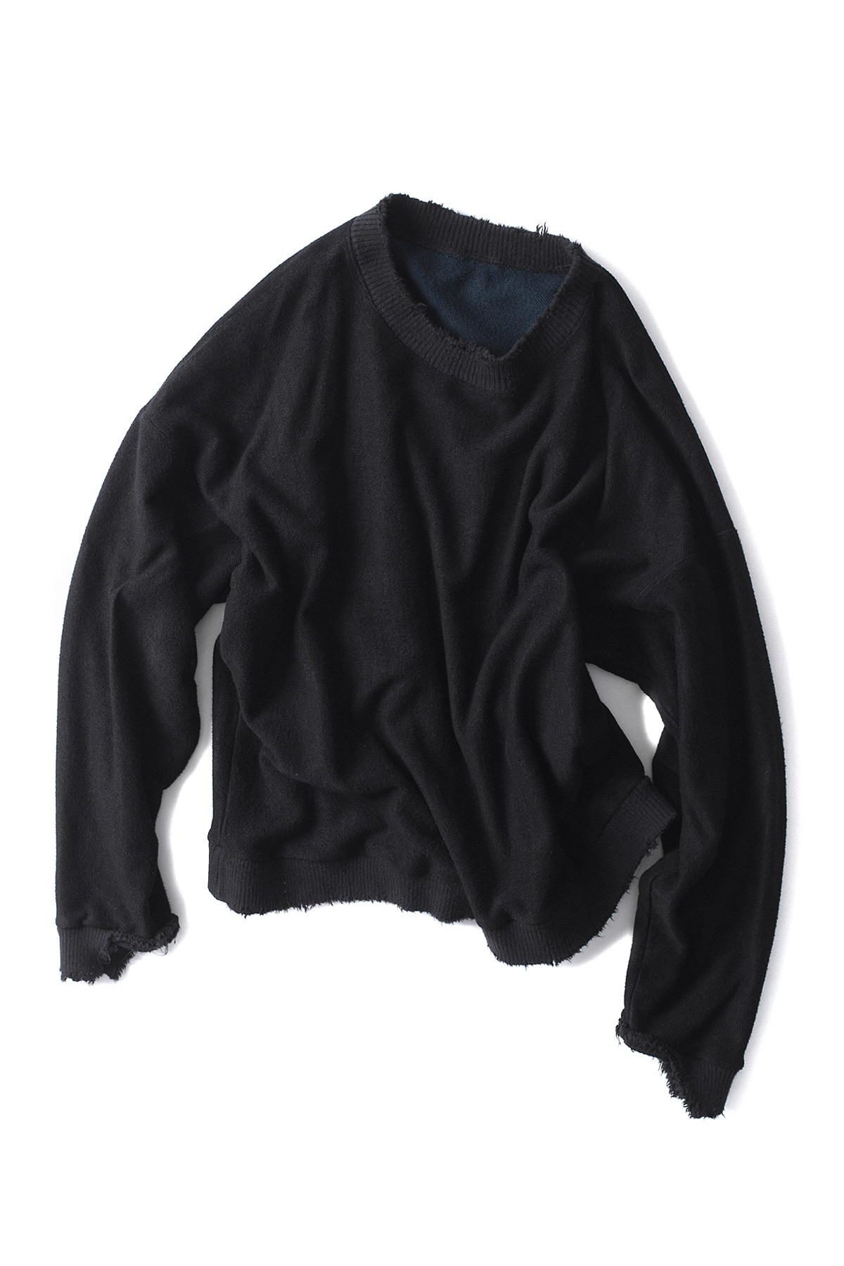 BIRTHDAYSUIT : Super Soft Reversible Pullover (Black)