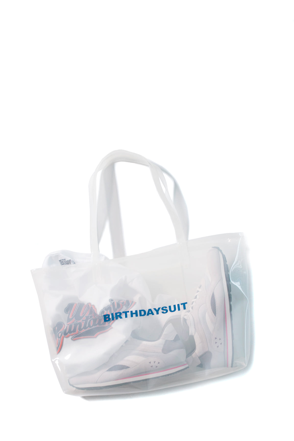 BIRTHDAYSUIT : LOGO PVC (White)