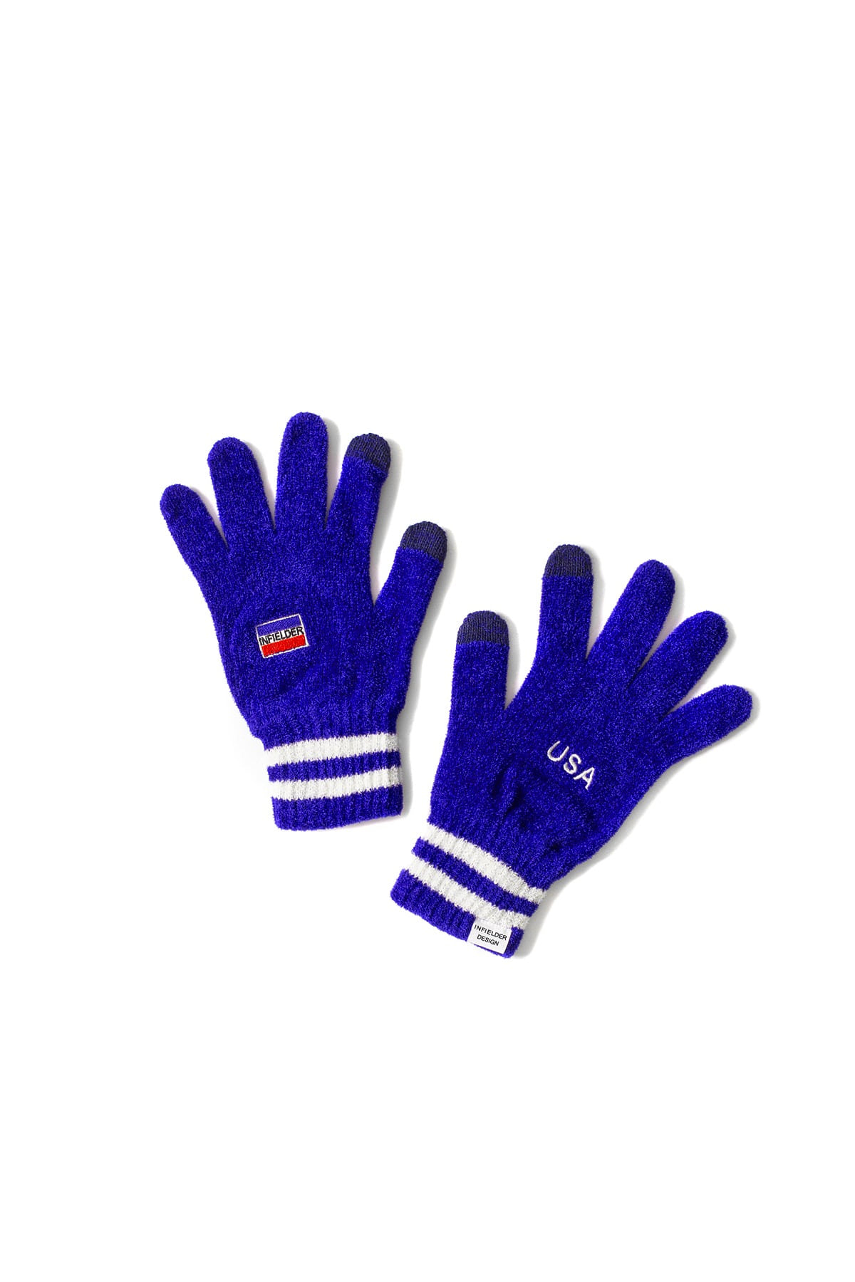 Infielder Design : USA Gloves (Blue)