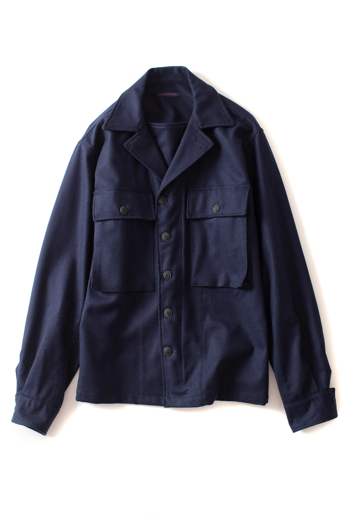 East Harbour Surplus : Derek Over Shirt (Blue)