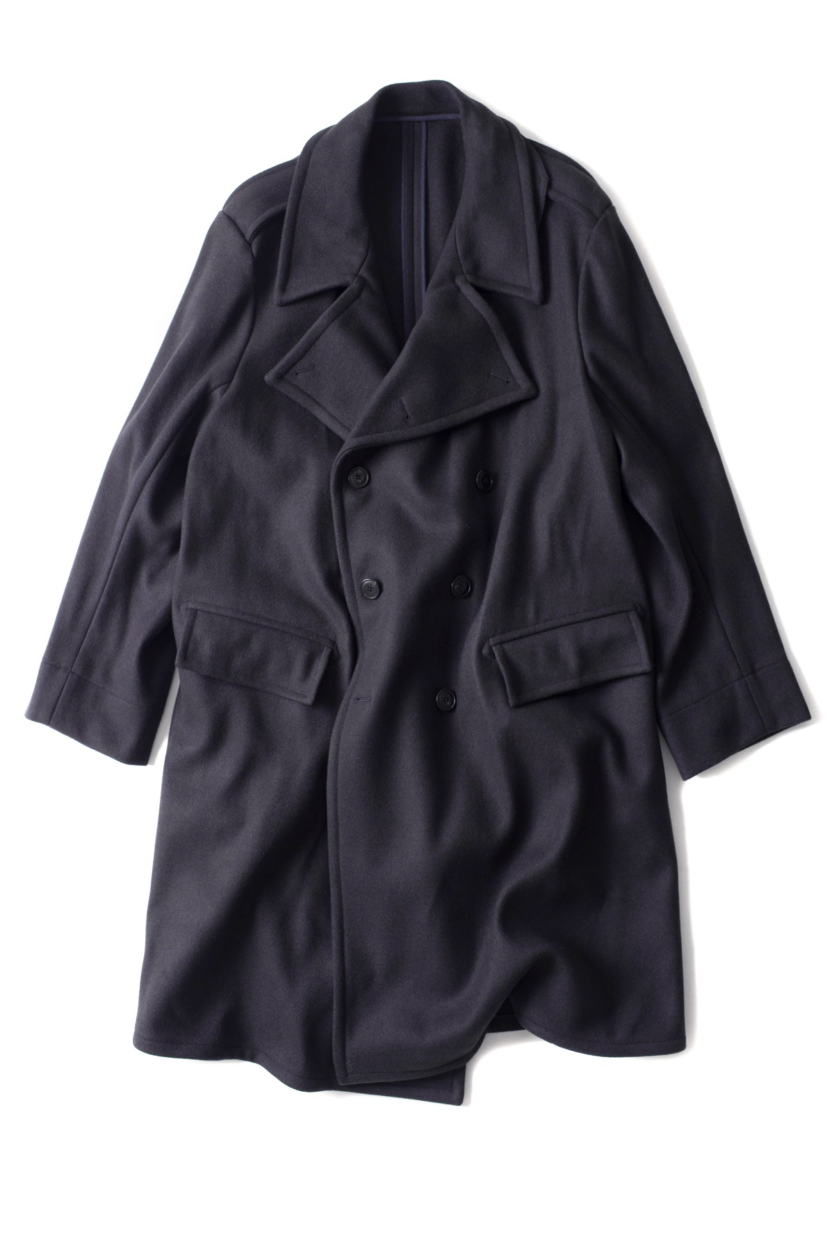 East Harbour Surplus : Pierre Coat (Dark Navy)