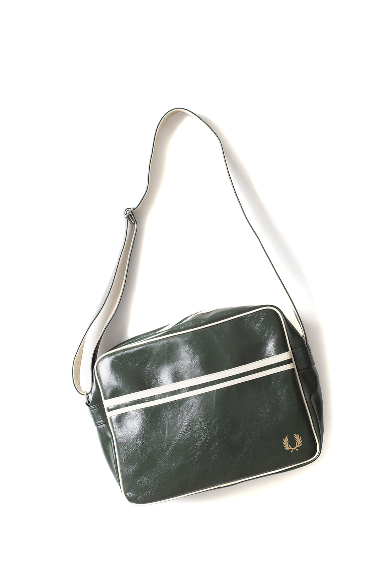 FRED PERRY : Classic Shoulder Bag (Deep Forest / Ecru)