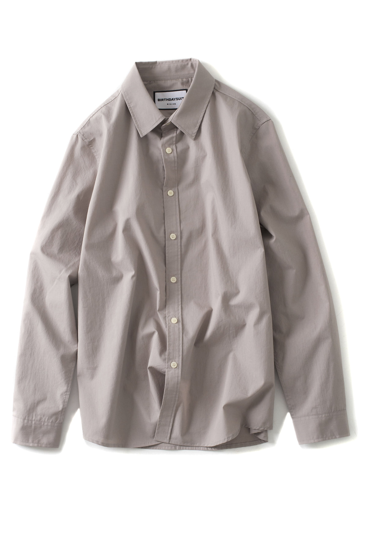 BIRTHDAYSUIT : Basic Shirt (Beige Grey)