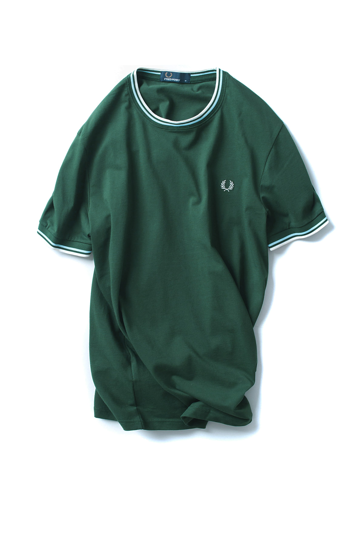 FRED PERRY : Twin Tipped T-Shirt (Ivy)