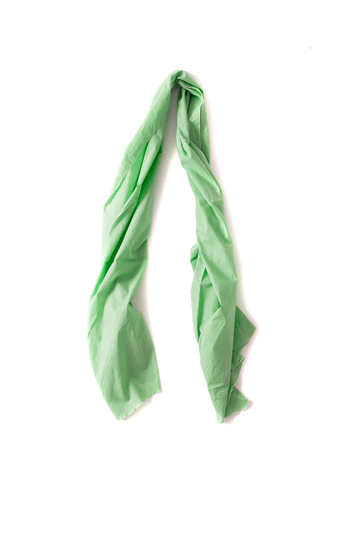 Engineered Garments : Long Scarf (Lime Green High Count Cotton Lawn)