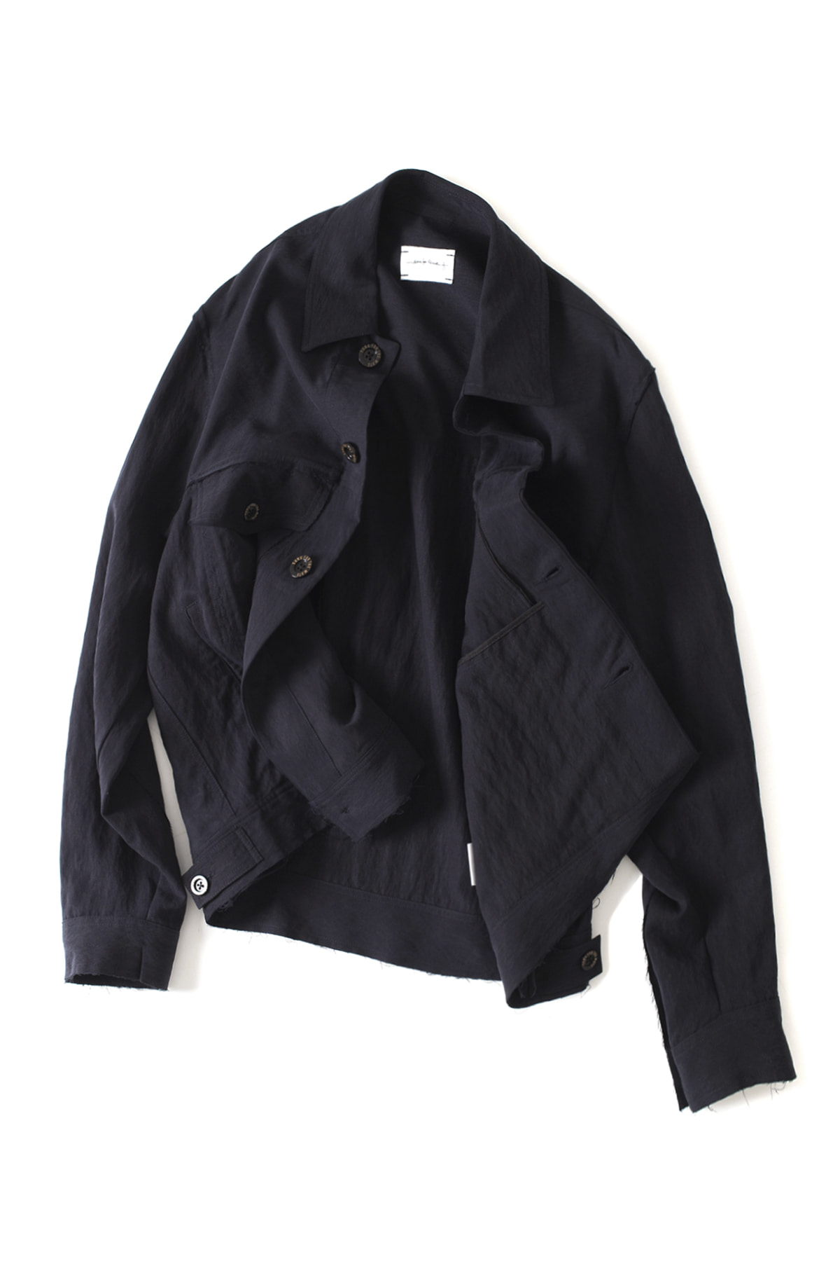 Song for the Mute : Coordinates Raw Worker Jacket (Navy)