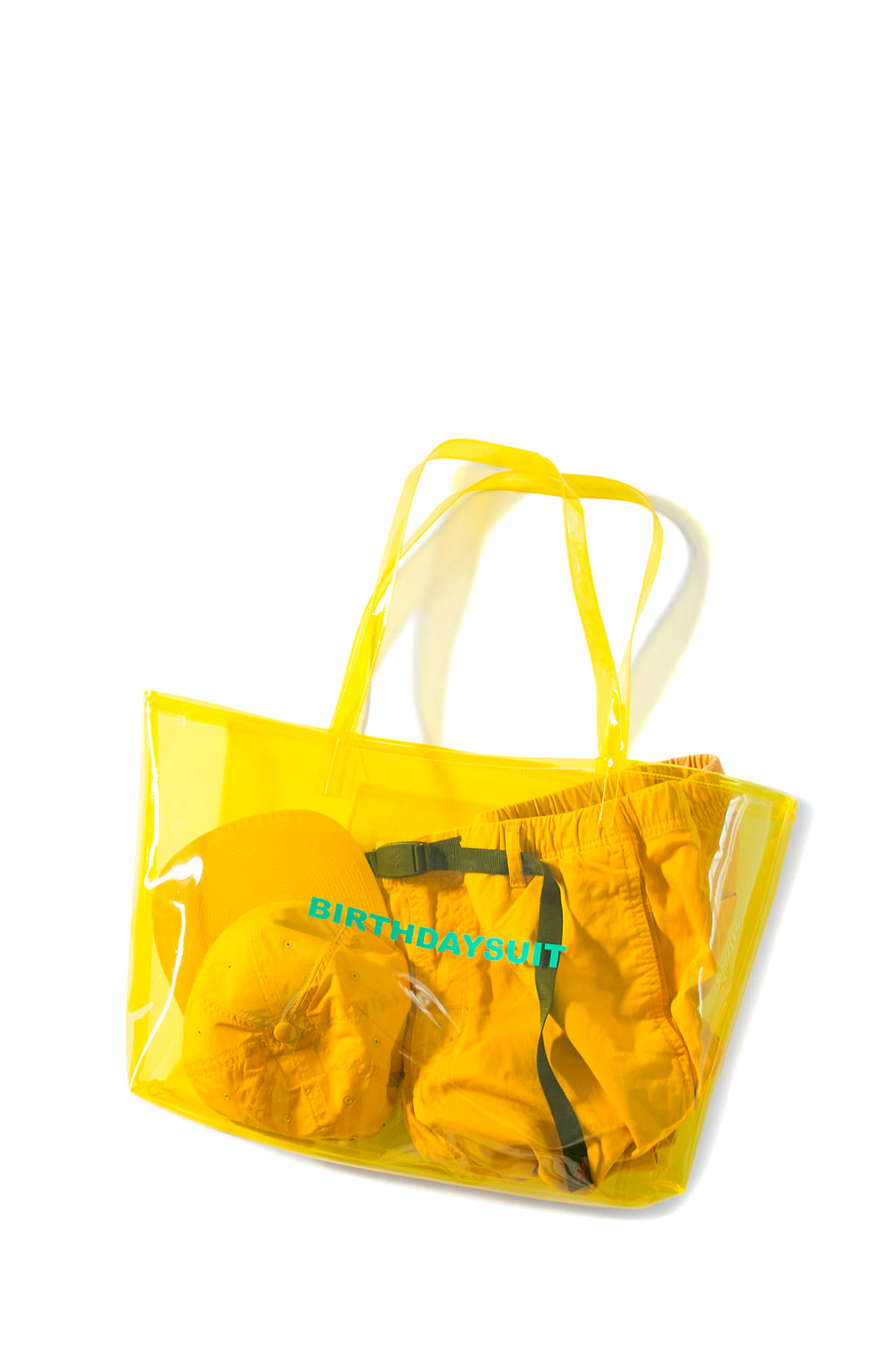 BIRTHDAYSUIT : LOGO PVC (Yellow)